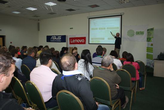 Компания CACTUS приняла участие в ежегодной конференции Фронтайм