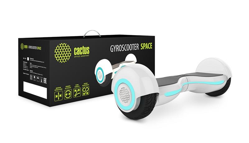 Новые модели гироскутеров CACTUS серии SPACE и TRACK