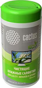Влажные салфетки CACTUS серии ЕСО