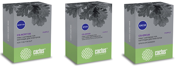 картриджи Cactus